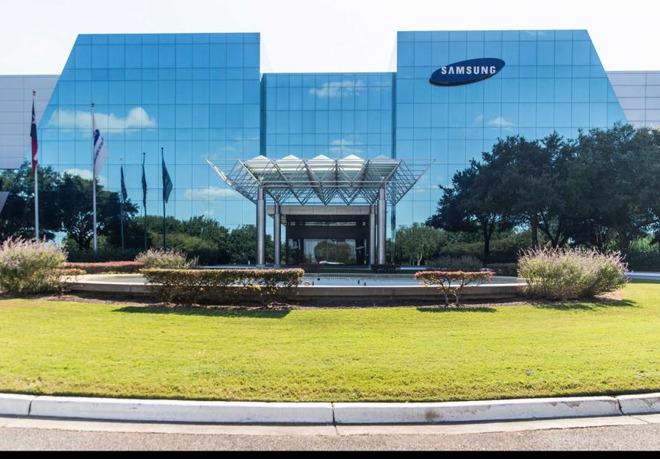 Samsung's Austin facilities.