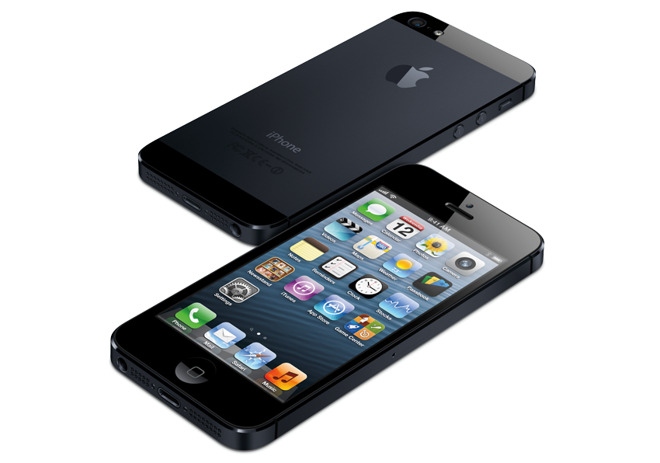 iPhone 5, one of the three models identified in the class action suit.