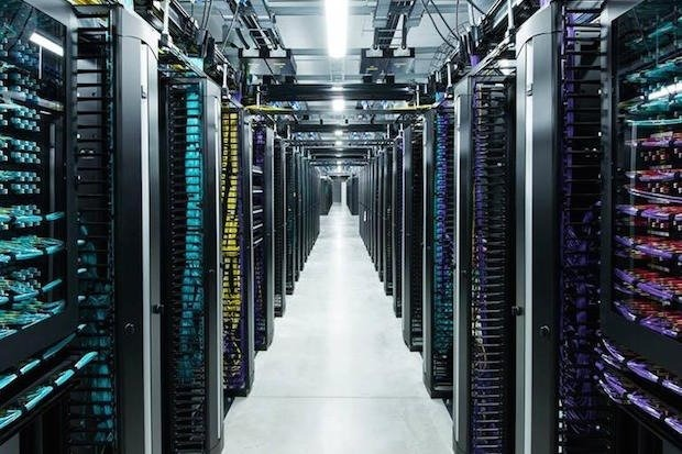 An Amazon data center.