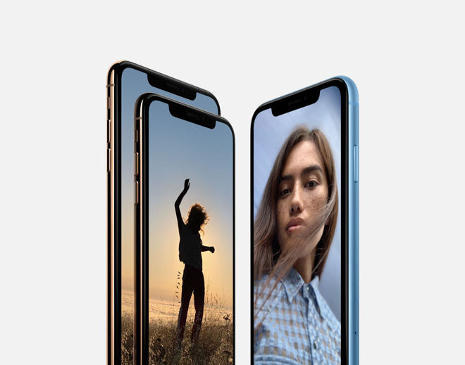 iPhone XS and XR