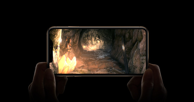 The iPhone XS and XS Max both rely on Samsung OLED panels.