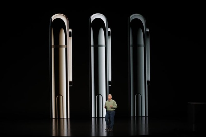 iPhone XS Phil Schiller