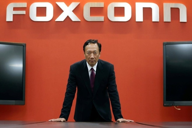 Foxconn's CEO, Chairman of the Board, and founder Terry Gou