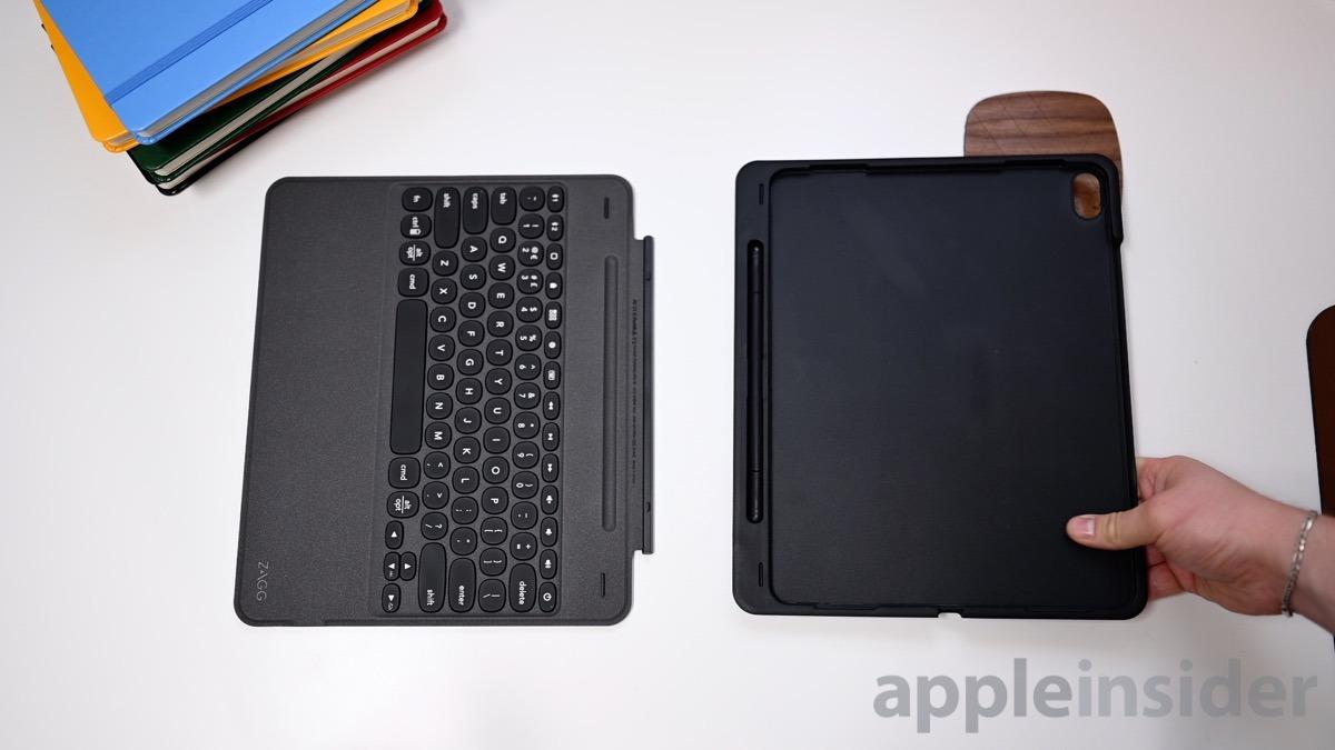Review: Zagg Slim Book Go for iPad Pro adopts a detachable Bluetooth  keyboard | AppleInsider