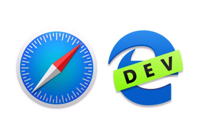 Comparing the Microsoft Edge browser for Mac vs  Apple's Safari