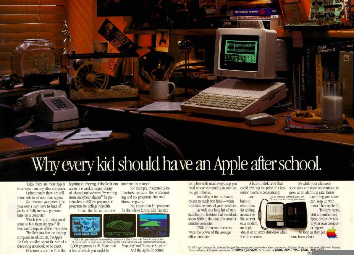 Apple //c ad