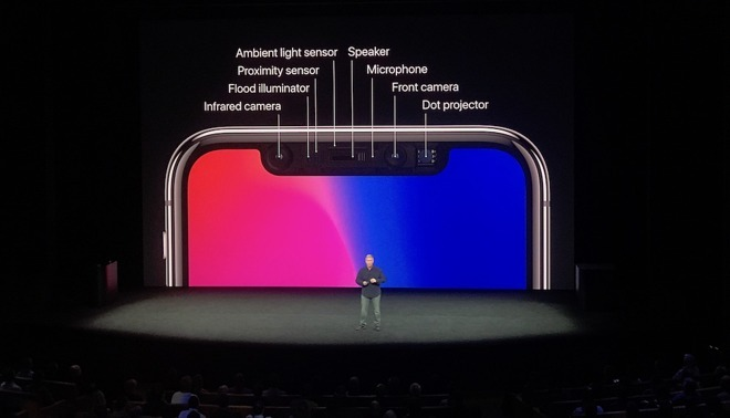 Apple's reveal of the TrueDepth camera array for the iPhone X's launch