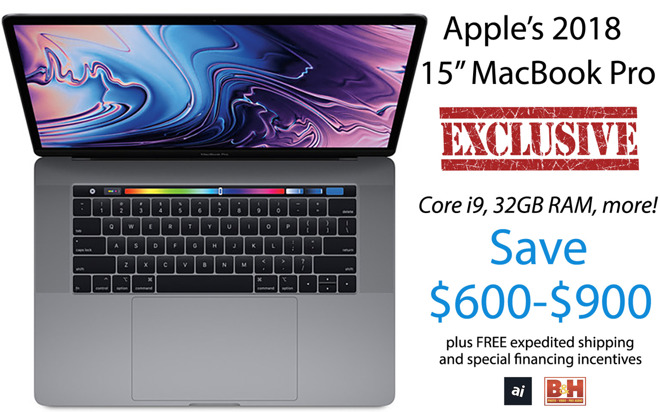 Apple 15 inch MacBook Pro exclusive deals