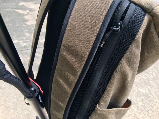 WaterField's Tech Rolltop Backpack
