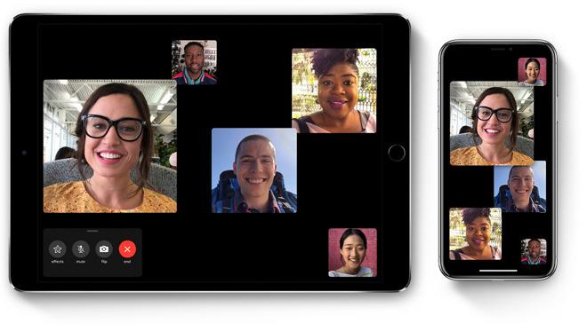 iOS 12 Group FaceTime