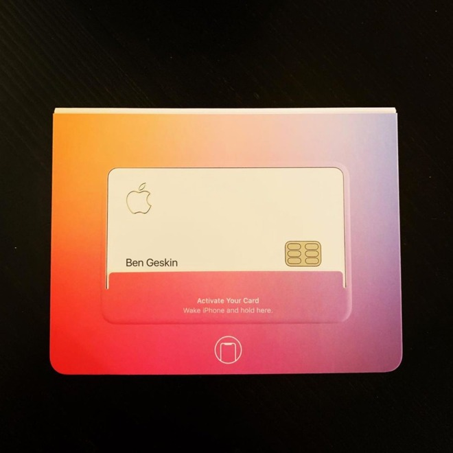 new photos show  u0026 39 beta u0026 39  apple card with nfc