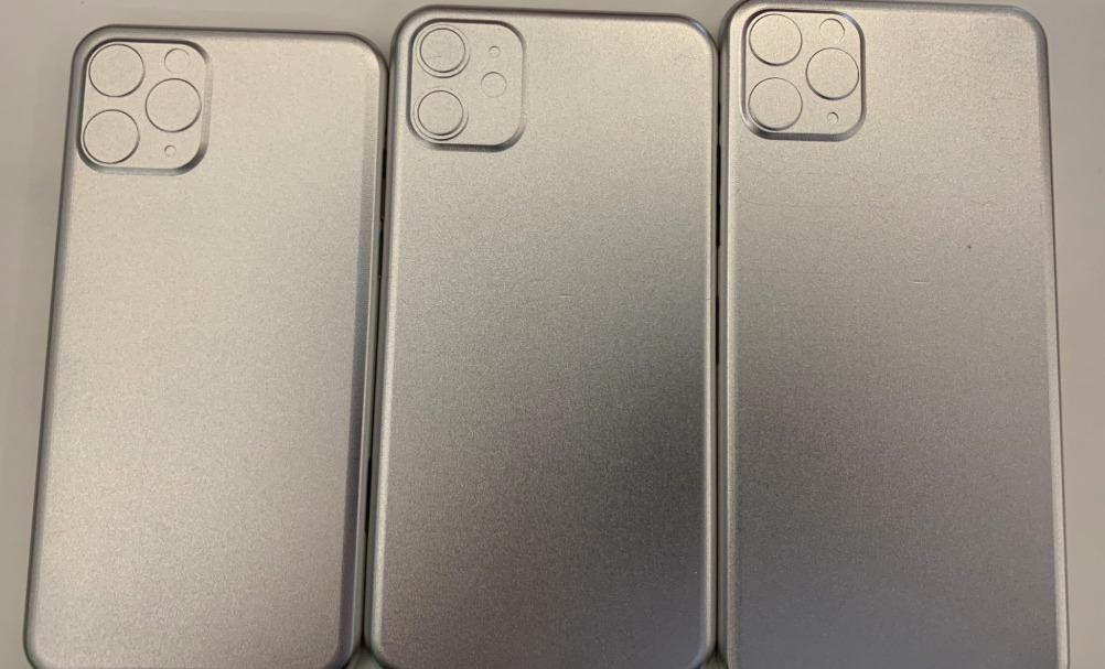Alleged 'IPhone XI,' 'XI Max,' 'XE' Case Molds Surface with Square Camera Bumps