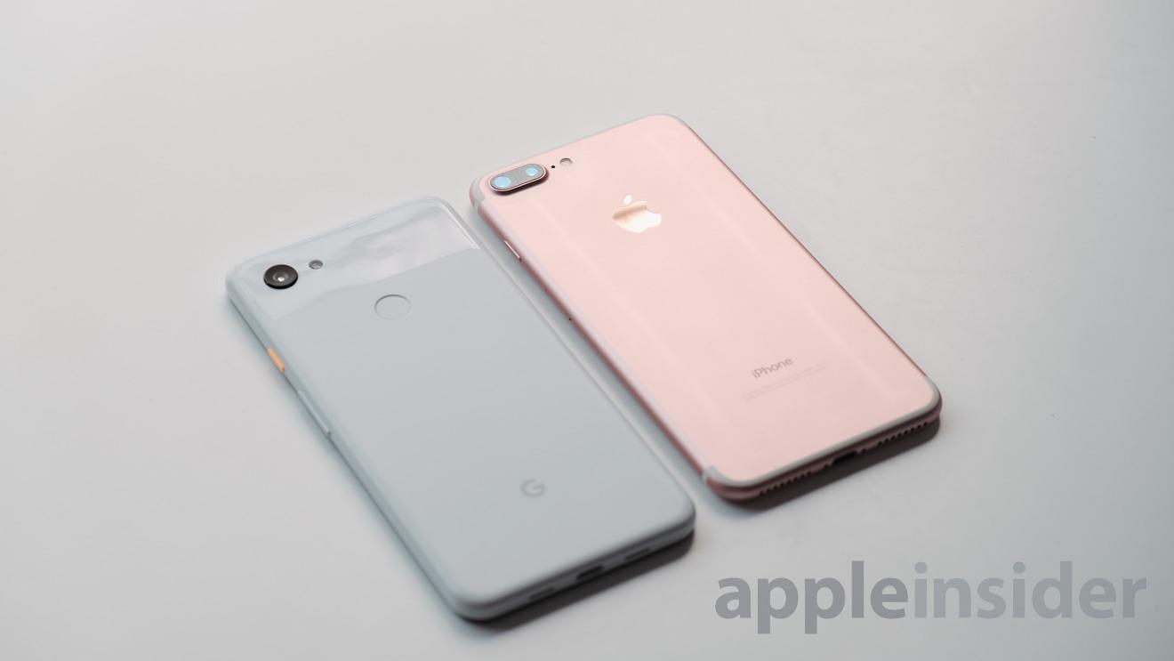 iPhone 7 Plus vs Pixel 3a XL Cameras