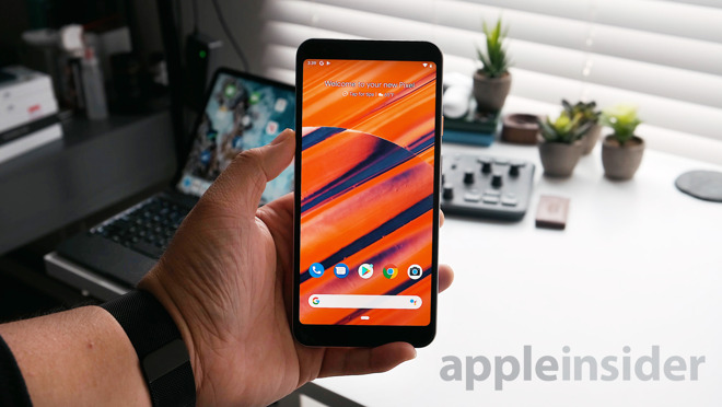 Google Pixel 3a XL's OLED Display