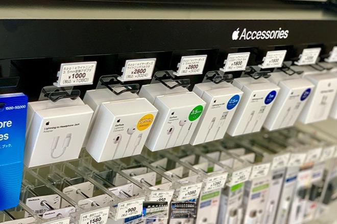 Apple Accessories in a Japanese store. (Photo: Macotakara)