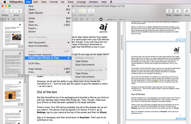 Hands On: PDFpen 11 brings Split View and precision page number