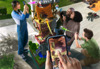 'Minecraft Earth' brings AR-based block gaming to iOS this summer
