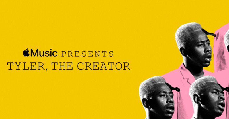photo of Apple Music promotes Tyler, The Creator's