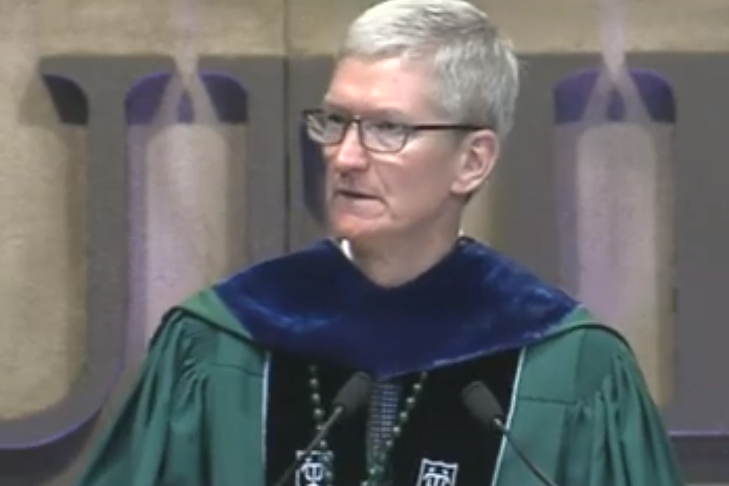 Tim Cook tells Tulane University grads that 'my generation has failed you'