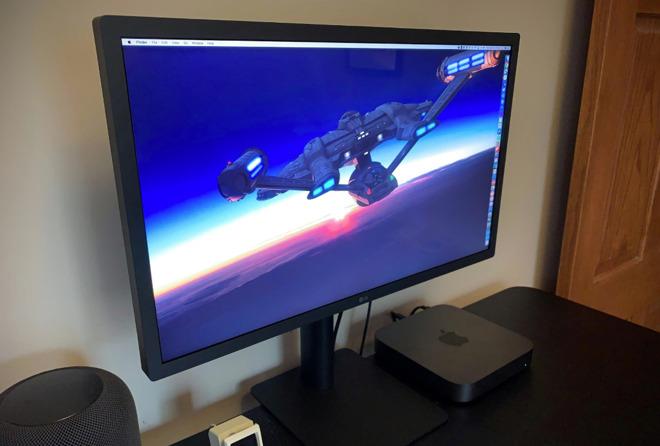 The 23.7-inch LG UltraFine display, via TidBits