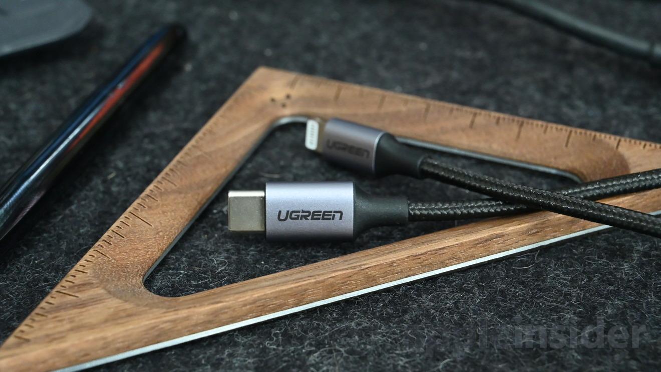 Ugreen nylon Lightning to USB-C cable