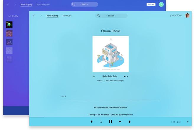 Pandora 2.0 for Mac