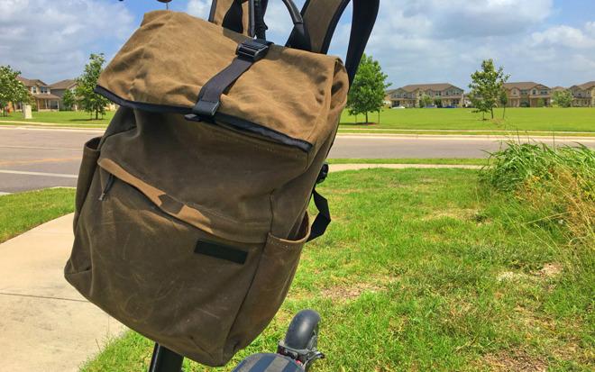 WaterField Tech Rolltop Backpack