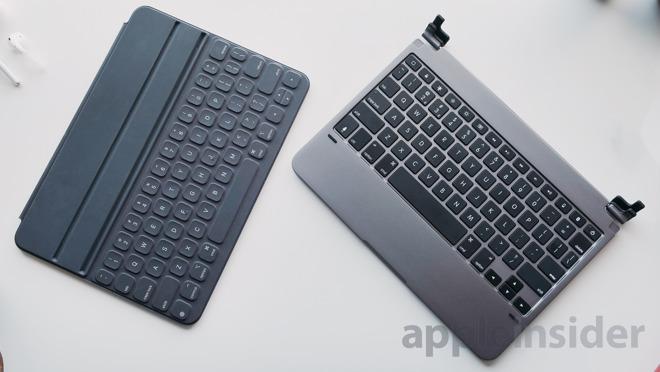 Apple Smart Keyboard vs Brydge Pro Keyboard