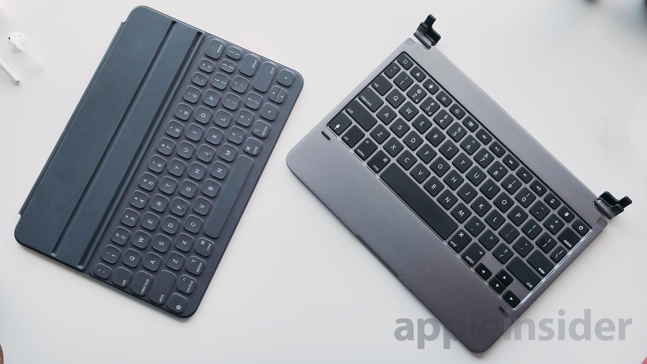 Compared: Brydge Pro vs Apple Smart Keyboard