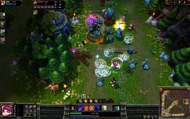 league of legends phone game