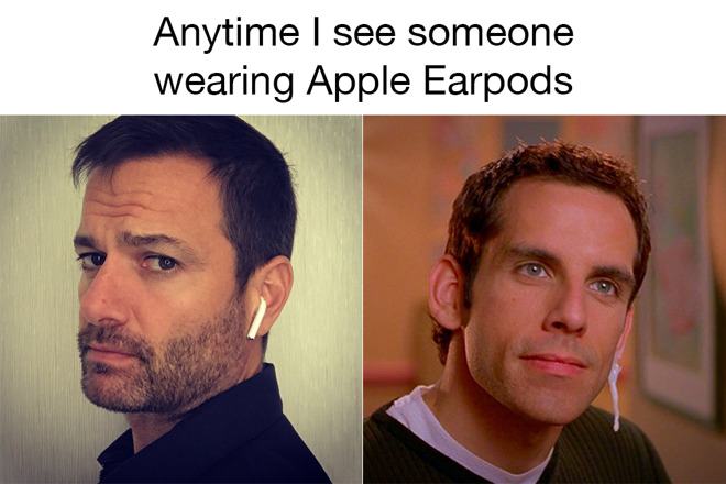 AirPods Meme, Daniel Eran Dilger