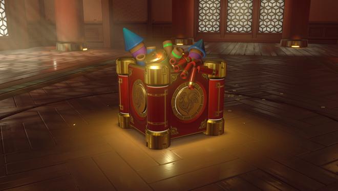 An 'Overwatch' loot box.
