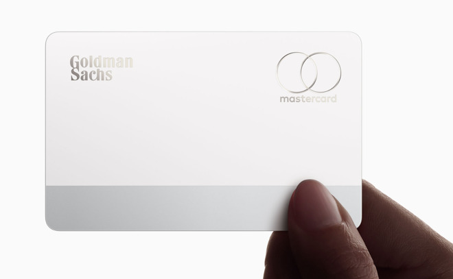 Apple Card back