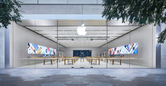 Apple Store in Rundle Place, Adelaide