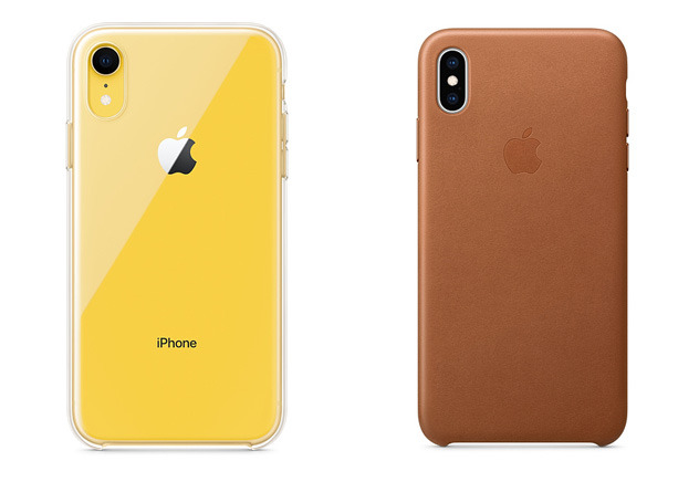 iPhone XR and XS