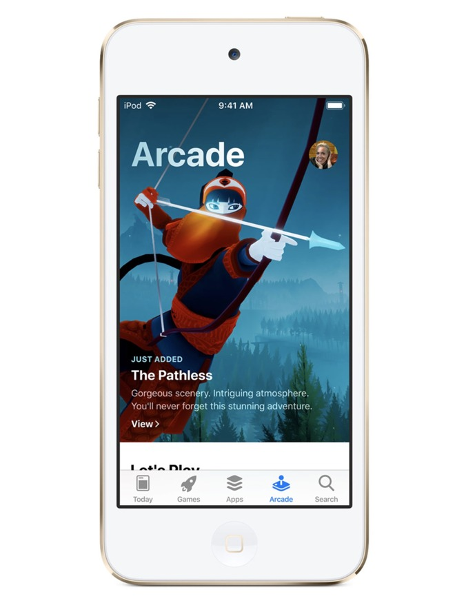 2019 iPod touch is great for Apple Arcade
