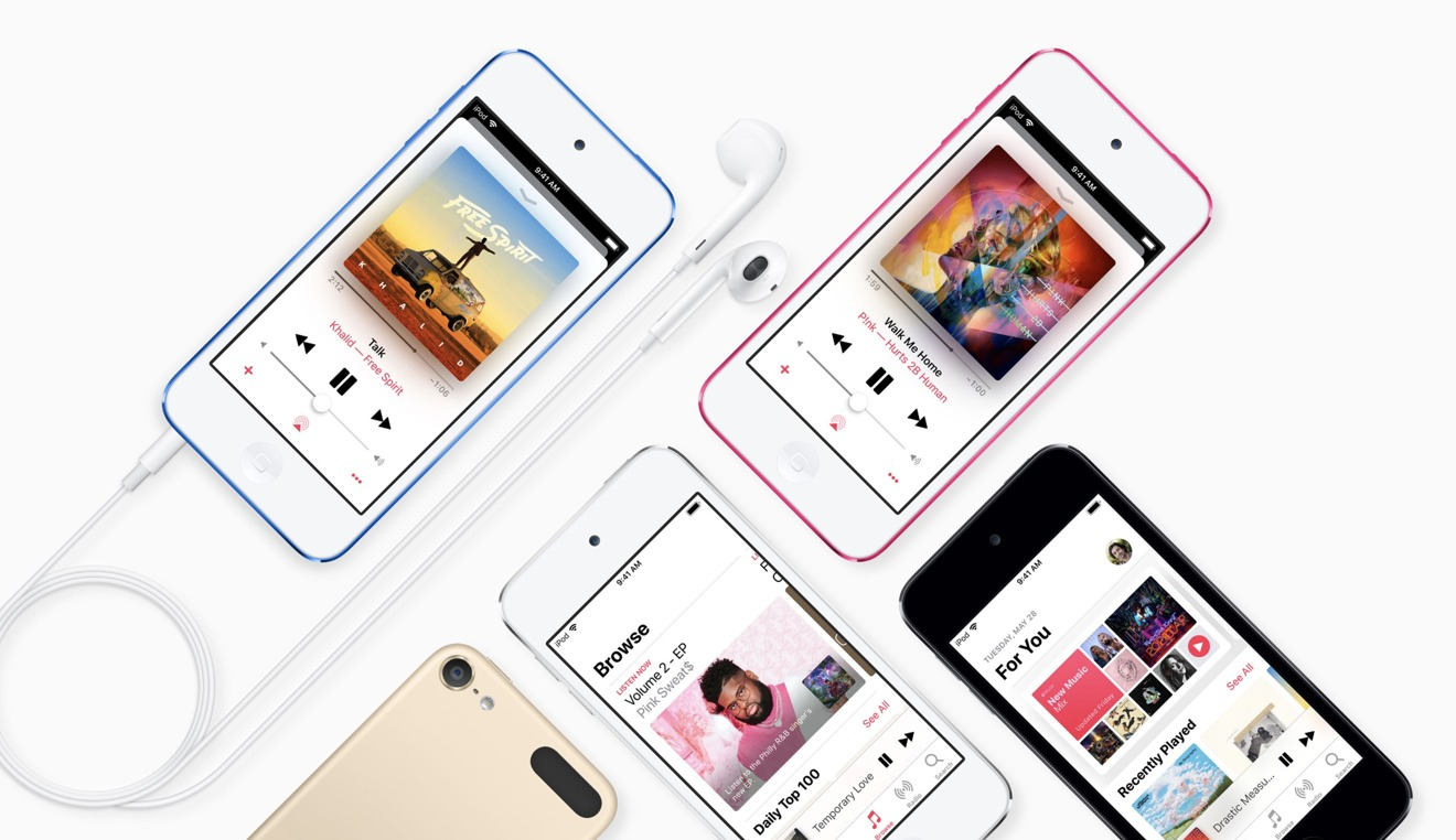 The new iPod touch is a perfect dedicated music player