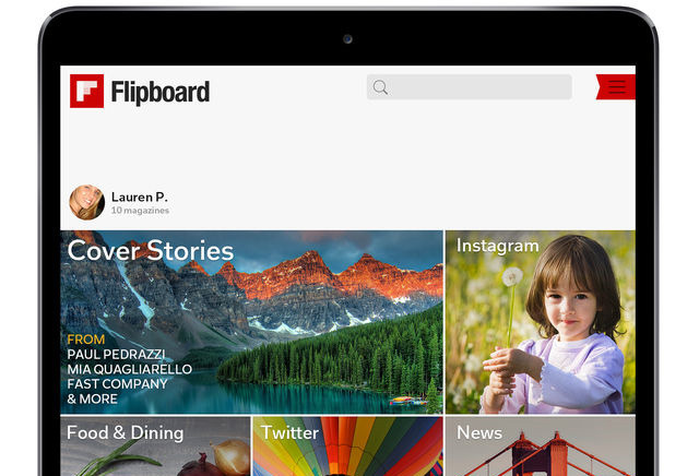 Flipboard on iPad