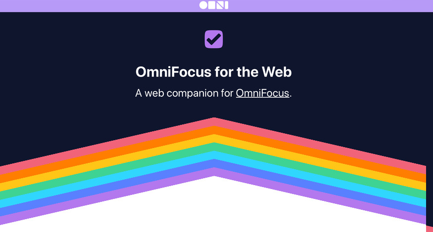 OmniFocus for the Web Opens up the to do App to More Users
