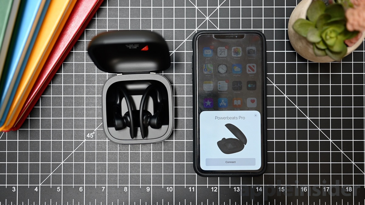 Powerbeats Pro effortless setup process
