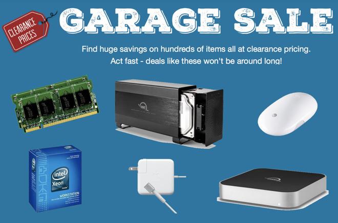 OWC Garage Sale
