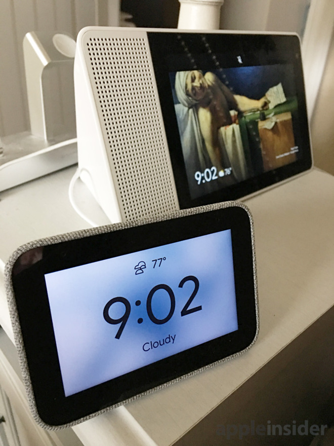 Lenovo's Smart Clock