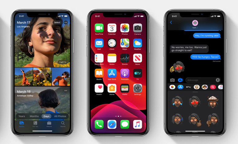 The new Dark Mode is much more subtle and deeply-rooted into iOS 13 than just reversing to white text on black