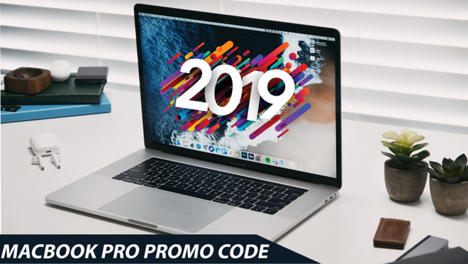 2019 Apple MacBook Pro promo code