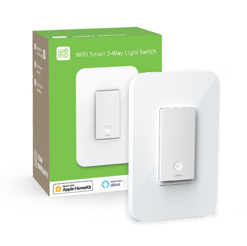 Wemo 3-Way Smart Light Switch