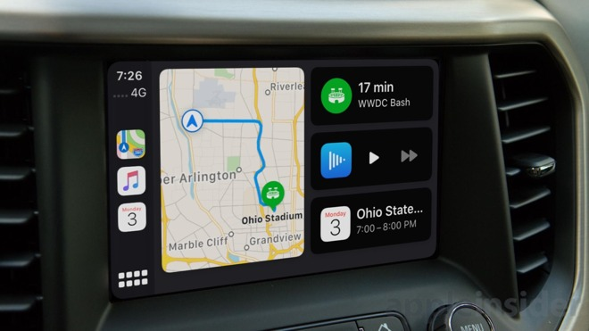 CarPlay has a new dashboard view