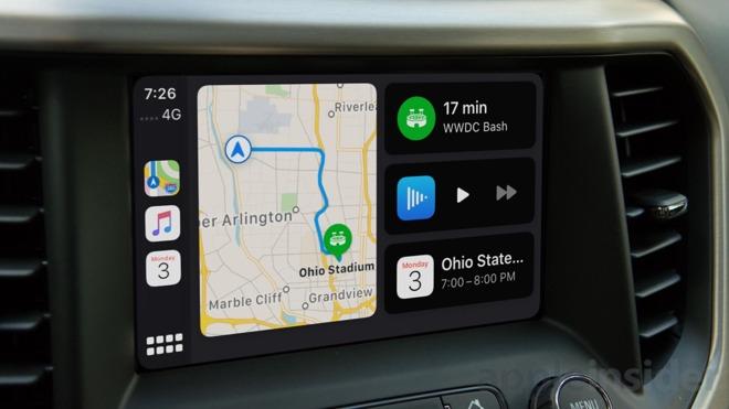 CarPlay has a new dashboard view