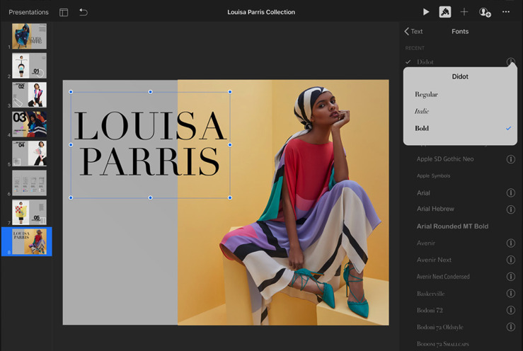 The new iPadOS brings custom fonts to the iPad