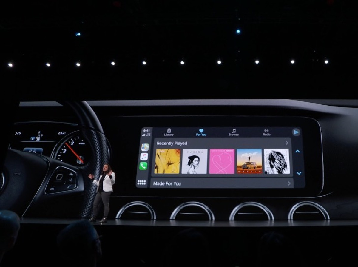 The new CarPlay Music app in iOS 13