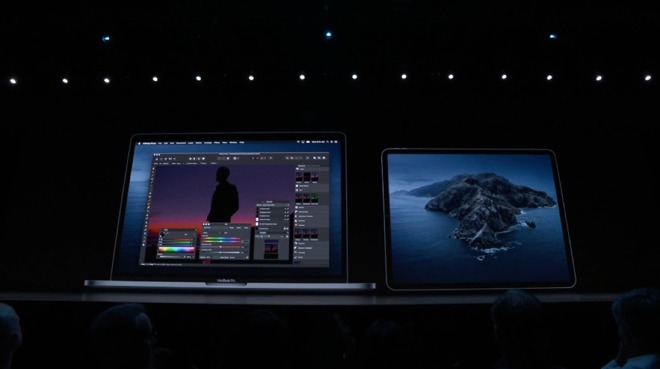 You can finally use an iPad as a second display on the Mac
